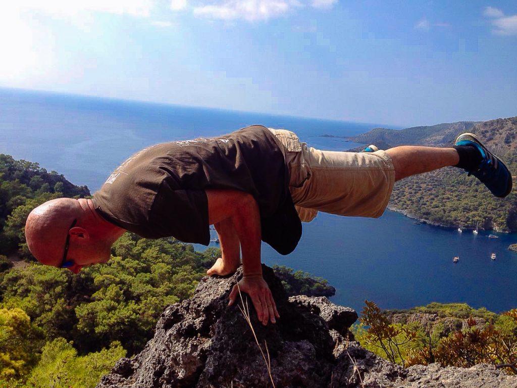 Doing wild in Turkey mountains