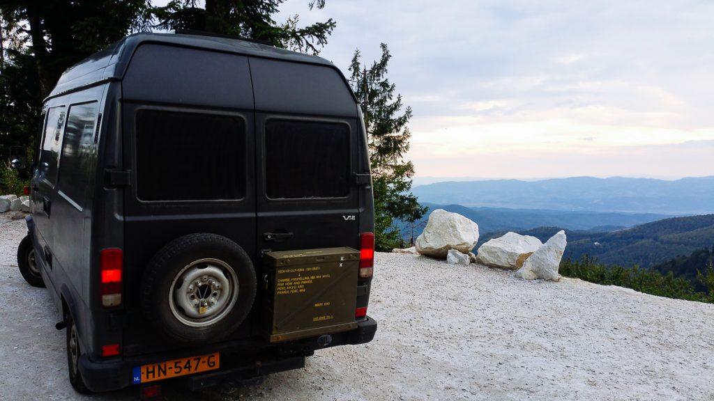 Random view in Transylvania mountains