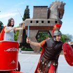 Roman Empire photohoot in Troja, Turkey