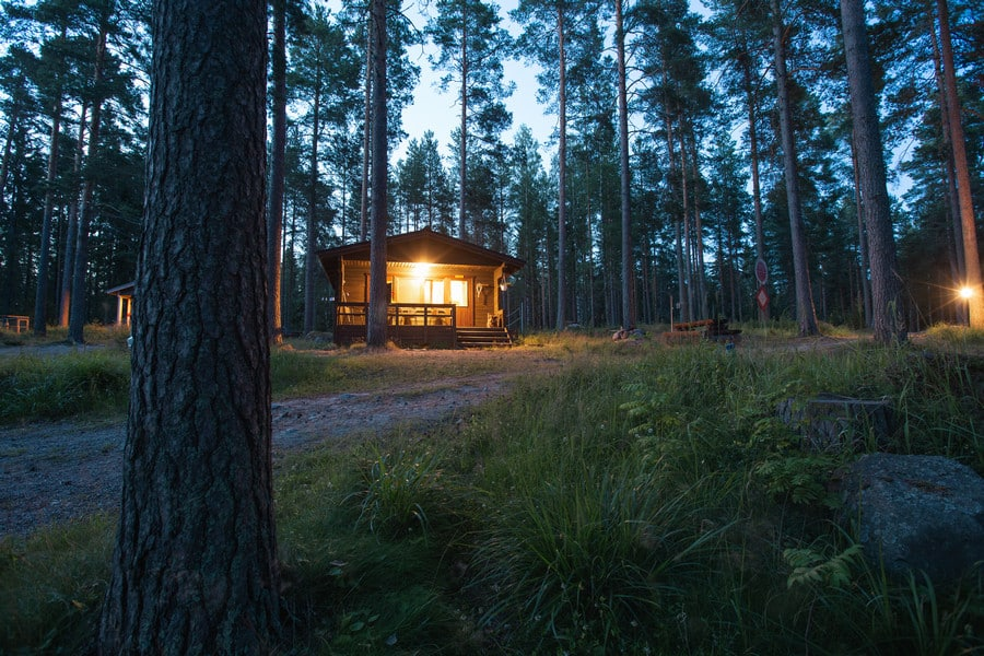 A Weekend Escape to a Summer Cottage in Finland's Lakeland